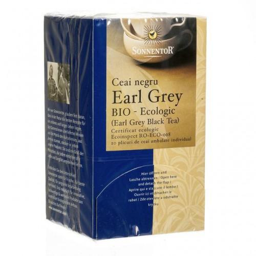 Ceai Negru Earl Grey Eco 18dz SONNENTOR