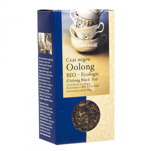 Ceai Negru Oolong Eco 80g SONNENTOR