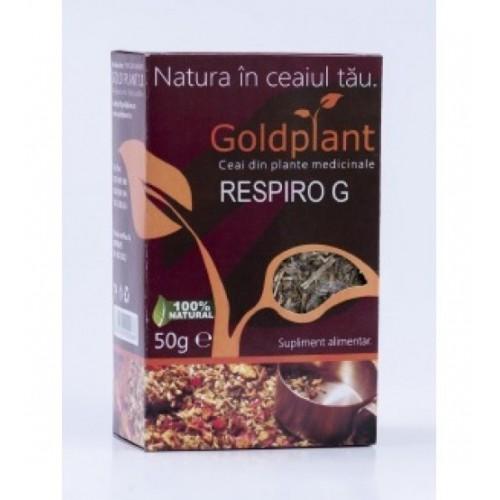 Ceai Respiro G 50g GOLD PLANT