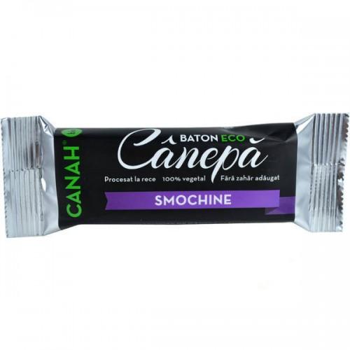 Baton din seminte de Canepa cu Smochine BIO 48g CANAH