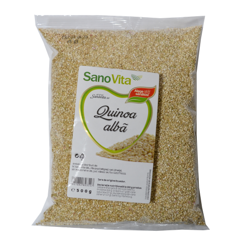Quinoa Alba 500 G SANO VITA