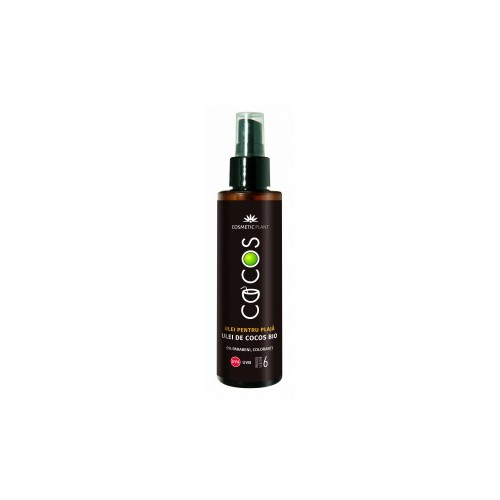 Ulei pentru plaja cu ulei de cocos Bio SPF 6 150 ML COSMETIC PLANT
