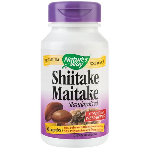 Shiitake Maitake 60 cps SECOM