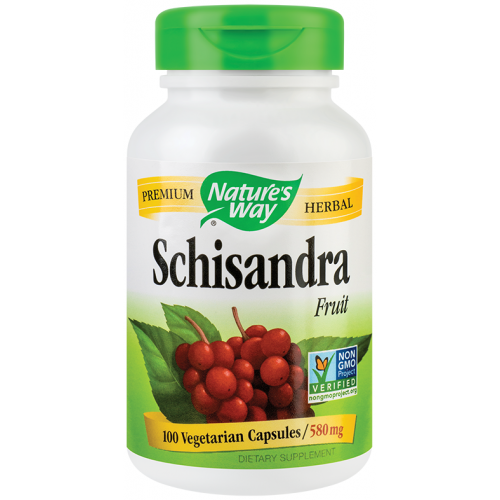 Schisandra Fruit 580 mg 100 cps SECOM