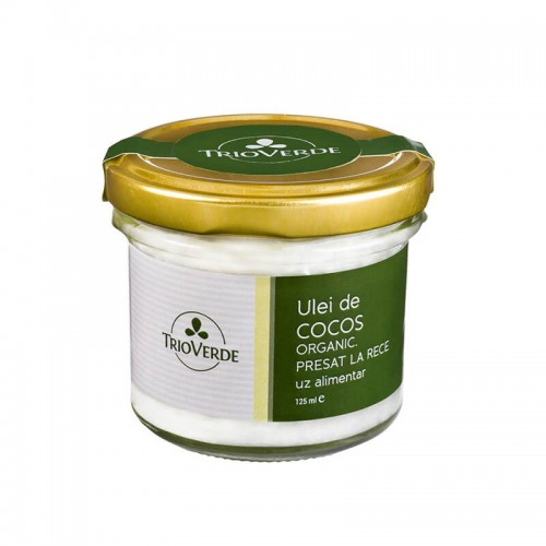 Ulei de Cocos Organic Virgin 125 ml TRIO VERDE