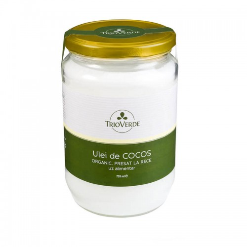 Ulei de Cocos Organic Virgin 720 ml TRIO VERDE