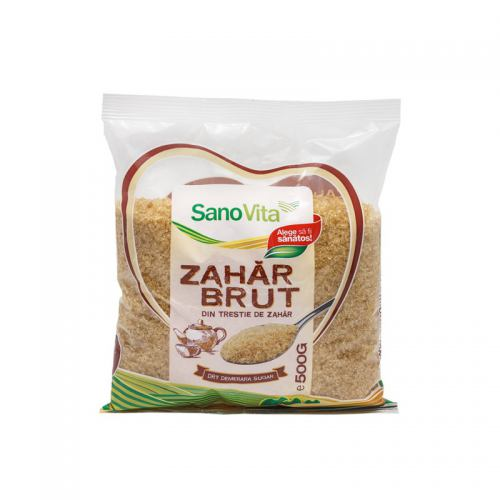 Zahar Brut din Trestie de Zahar 500 g SANOVITA