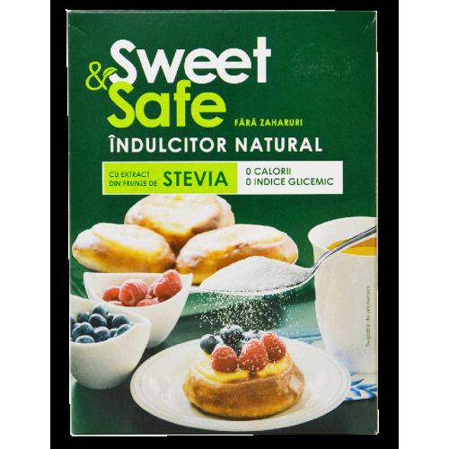 Indulcitor Natural din Stevia 350G Sweet & Safe