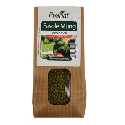 Fasole Mung Ecologica 300 g Pronat