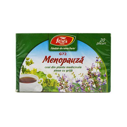 Ceai Menopauza (G72) 20dz FARES