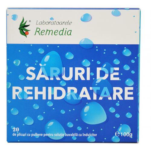 Saruri de Rehidratare 20 plicuri REMEDIA