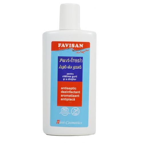 Apa de gura antiseptica FaviFresh 250ML FAVISAN