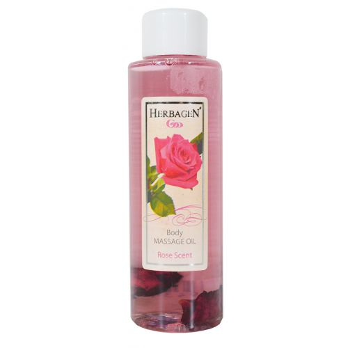 Ulei de masaj cu parfum de trandafir 100ML HERBAGEN