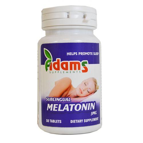 Melatonin 50CPS ADAMS