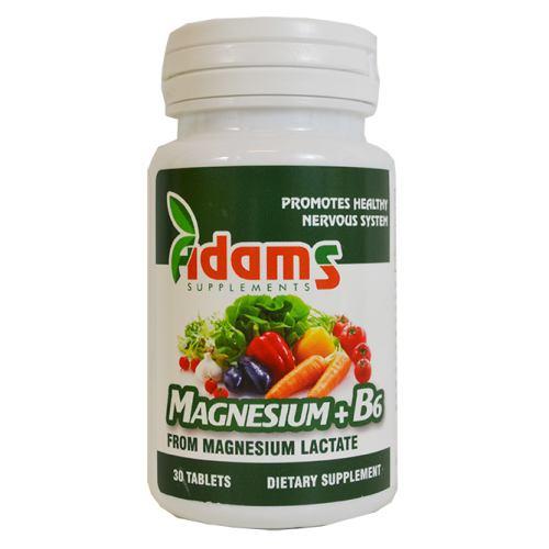 Magnesium + vitamina B6 30TB ADAMS