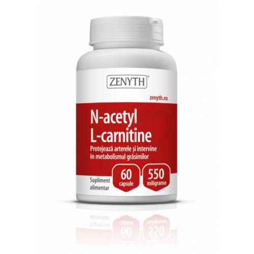 N-Acetyl L-Carnitine 550MG 60CPS ZENYTH