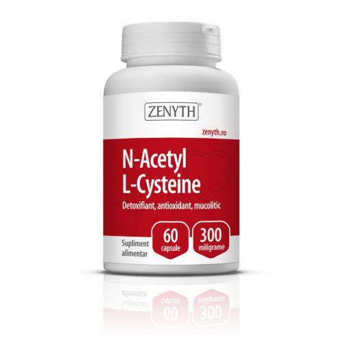 N-Acetyl L-Cysteine 300MG 60CPS ZENYTH