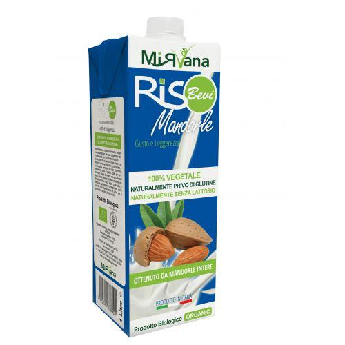 Lapte de orez cu migdale bio 1L SANOVITA