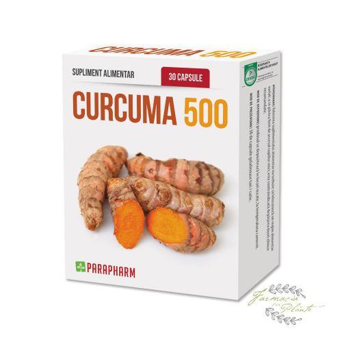 Curcuma 500 30 CPS 1+1 CADOU PARAPHARM