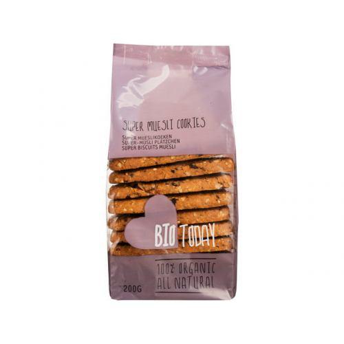 Biscuiti cu supermusli bio 200G SMAAK