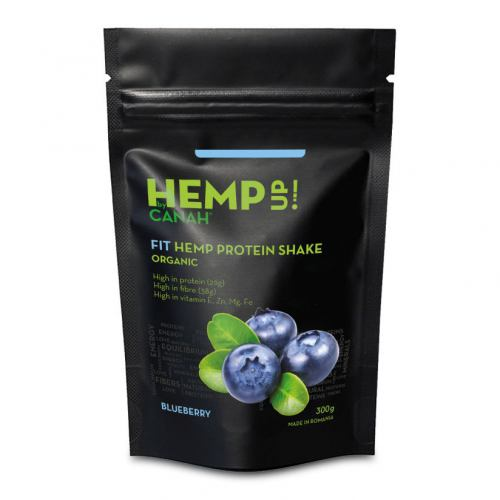 Shake proteic de canepa si afine 300G CANAH