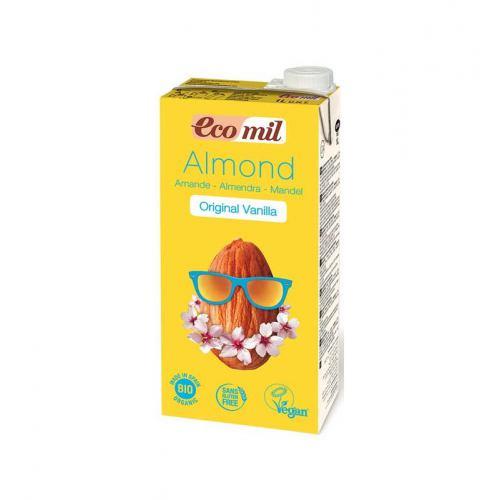 Bautura bio de migdale cu aroma de vanilie 1L PRONAT