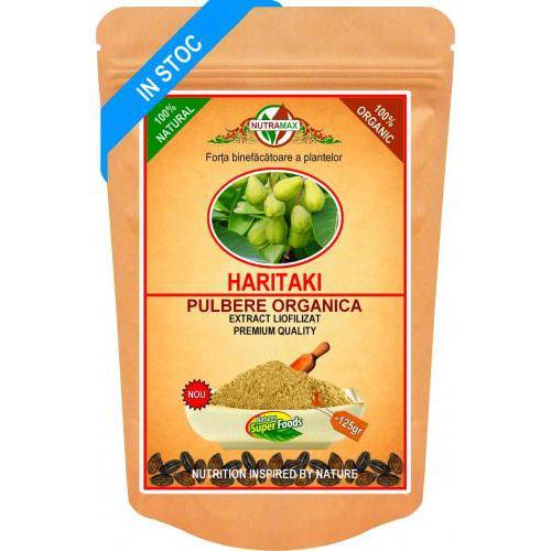 Pulbere organica Haritaki 125G NUTRAMAX