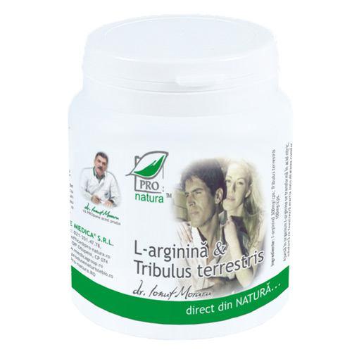 L-arginina si tribulus terrestris 150CPS PRO NATURA