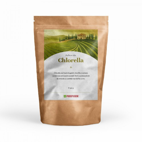 Chlorella Pulbere 250g Parapharm
