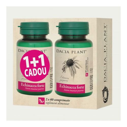 Echinacea forte 60 cpr 1+1 Cadou DACIA PLANT