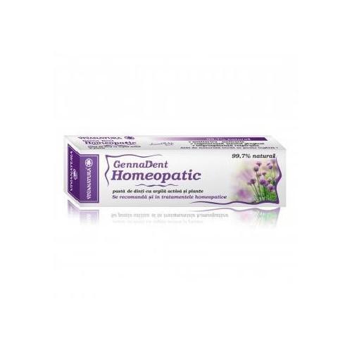 GennaDent Homeopatic Pasta De Dinti 50ml VIVANATURA